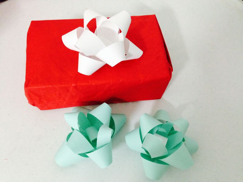 c mo hacer mo os de papel para regalos de navidad vero hoy