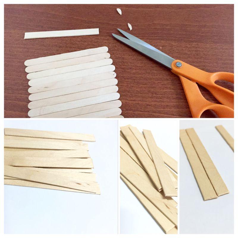 Diy mini palets de madera portavasos lindos y econ micos for Minibar de madera