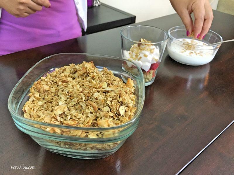 granola en casa