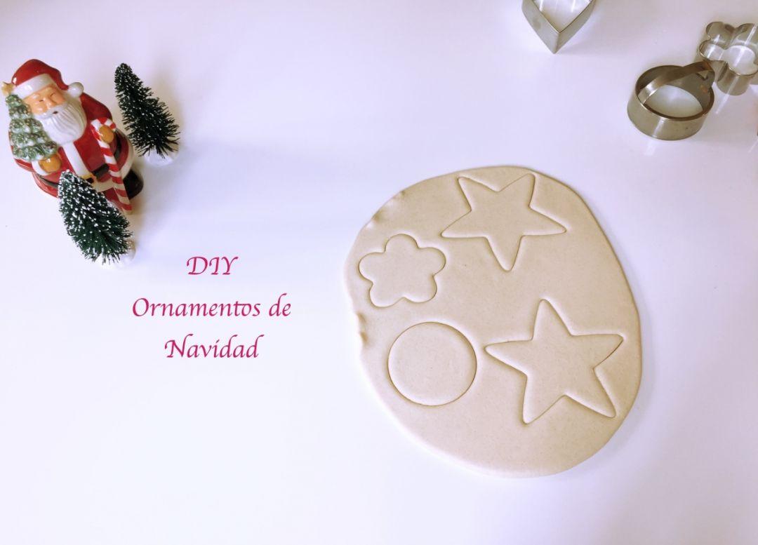 Ornamentos para el rbol de navidad hechos con sal y - Ornamentos de navidad ...