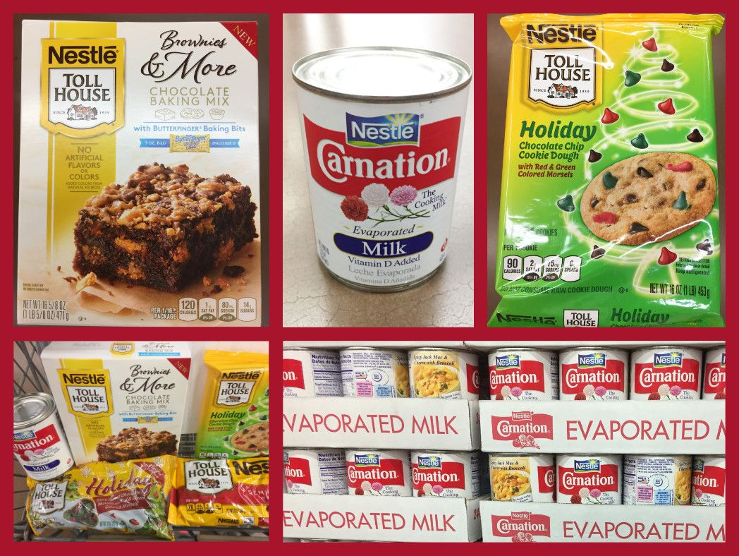 Nestle Products for Holidays