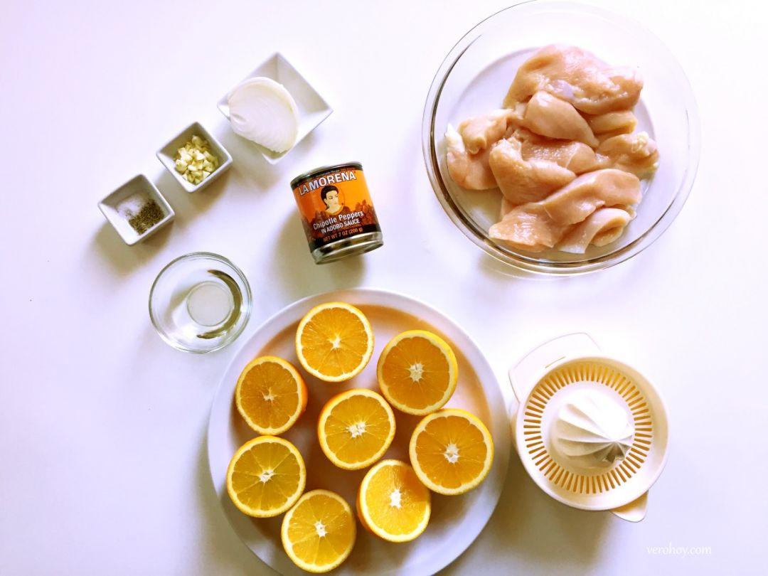 La Morena Receta Ingredientes
