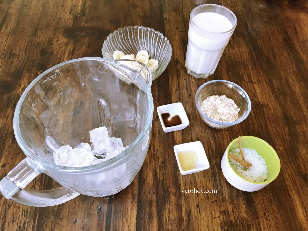 Como preparar avena con leche de almendras